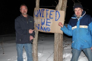 Jonathan Gagnon and Luke Sinstadt Stand United!