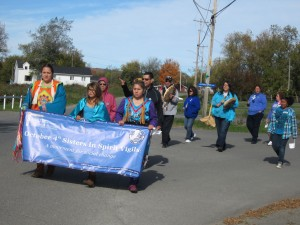 The Sisters in Spirit Vigil March on October 4th