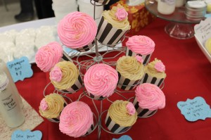 The beautiful and decadent Bath Bomb Cupcakes
