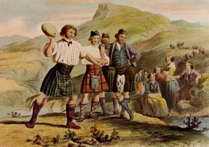 Highland Games are an ancient and proud tradition…12 Highlanders and a bagpipe make a rebellion!