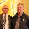 Green Party Leader David Coon with Victoria-Carleton MLA Candidate Garth Farquhar