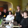 Renee O'Neill, Charles MacFarlane, Barbara Boucher, Shirley Hansen and Brenda Goodine at The 878 Waterfront Bistro in Perth-Andover