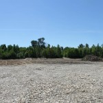 Ramps and bowls for sports vehicles at the old gravel pit