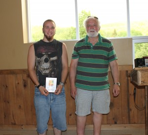 Martin Morin was taken completely by surprise when he  received the Youth All-Star award for 2014 from Mayor Ritchie!